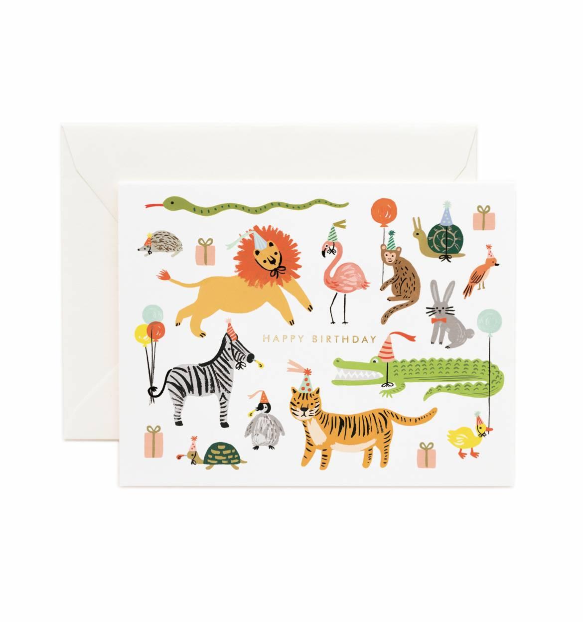 RIFLE - Kort, Party Animals