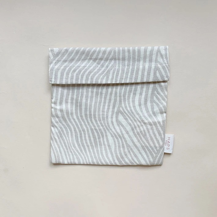 HAPS - Matpakkepose, Wave Oyster Grey
