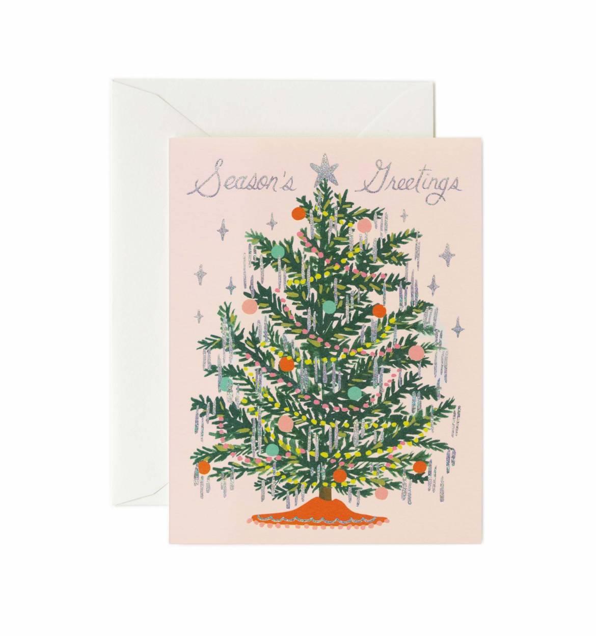 RIFLE - Kort, Tinsel tree