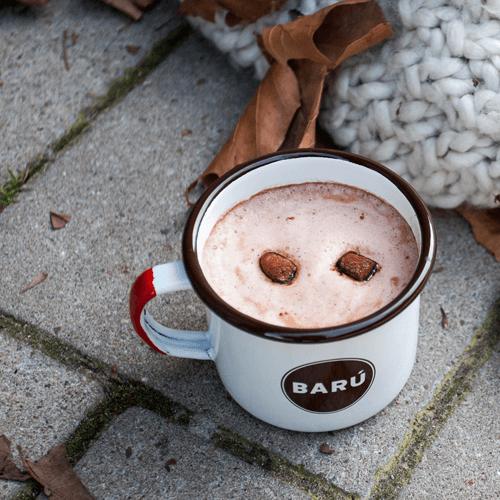 BARU - Fluffy marshmallow hot chocolate