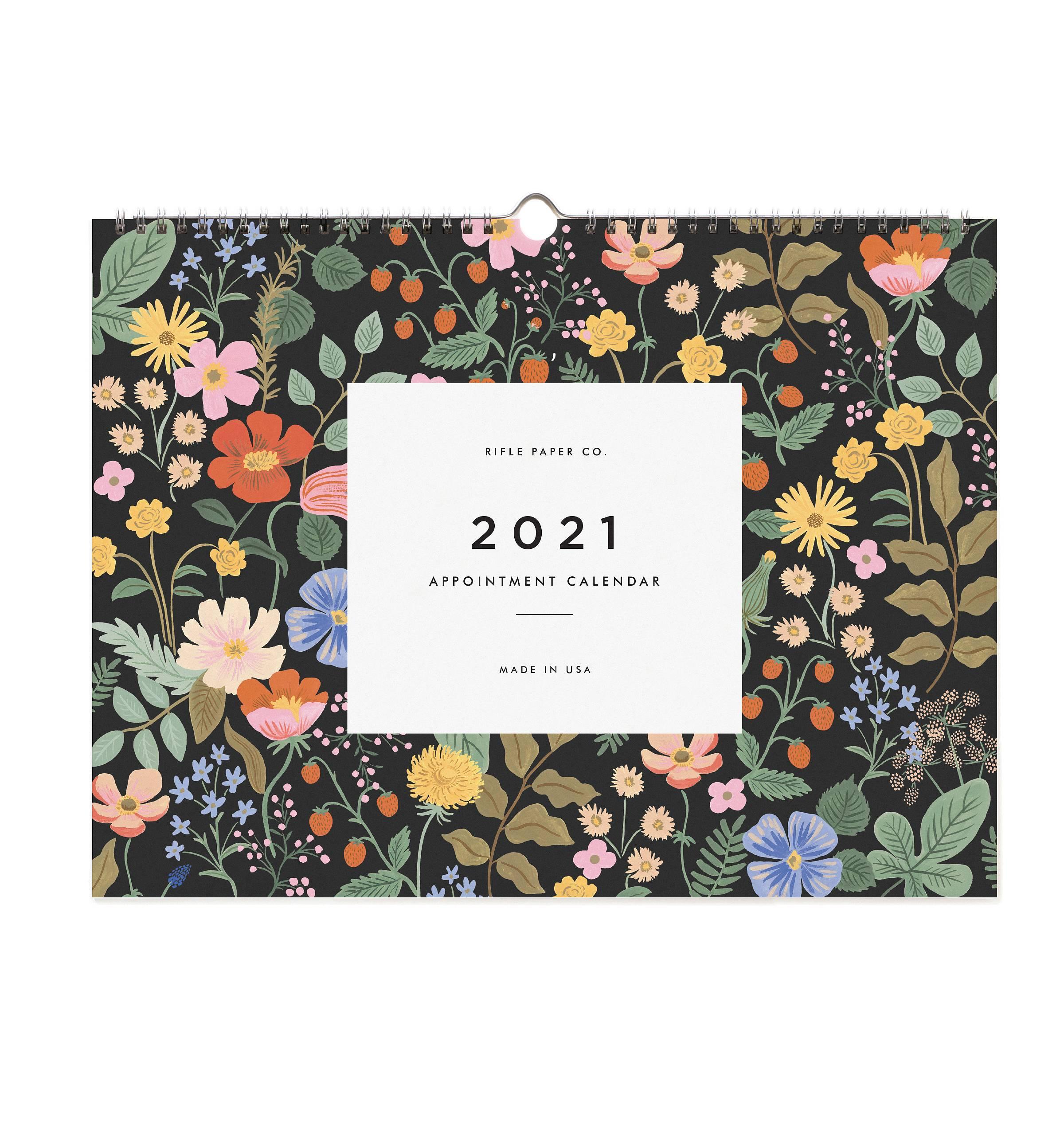 RIFLE - 2021 Garden Appointment Calendar