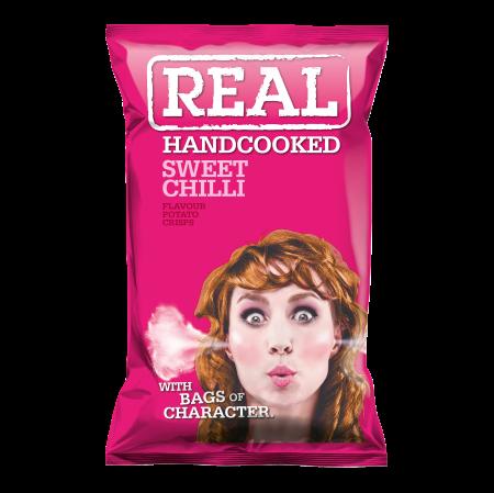 Real Crisps Sweet Chilli