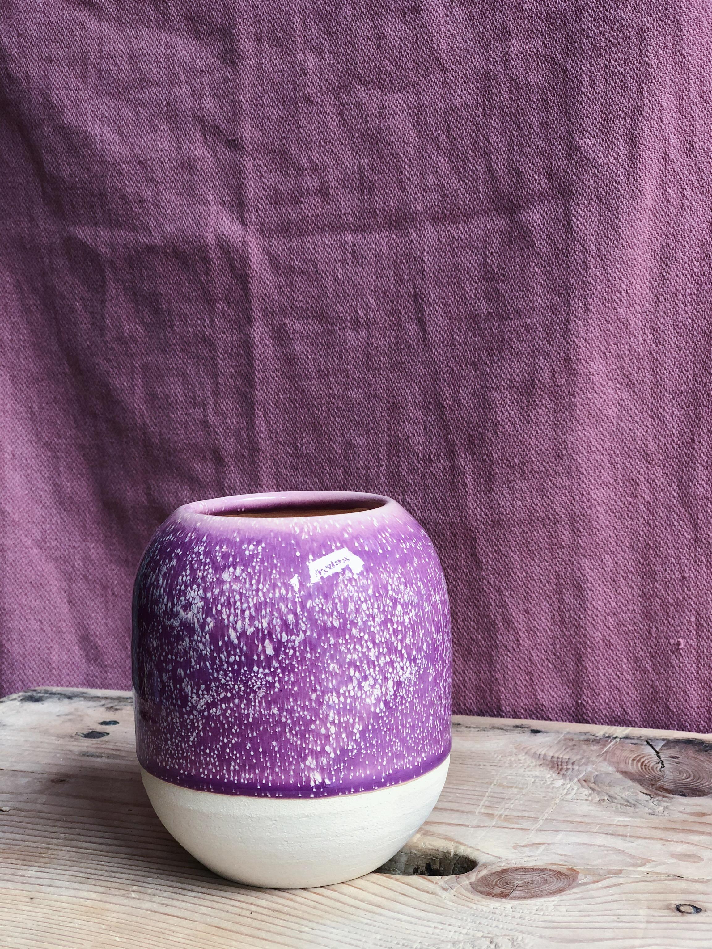 STUDIO ARHØJ - Pen Cup, Purple Klematis