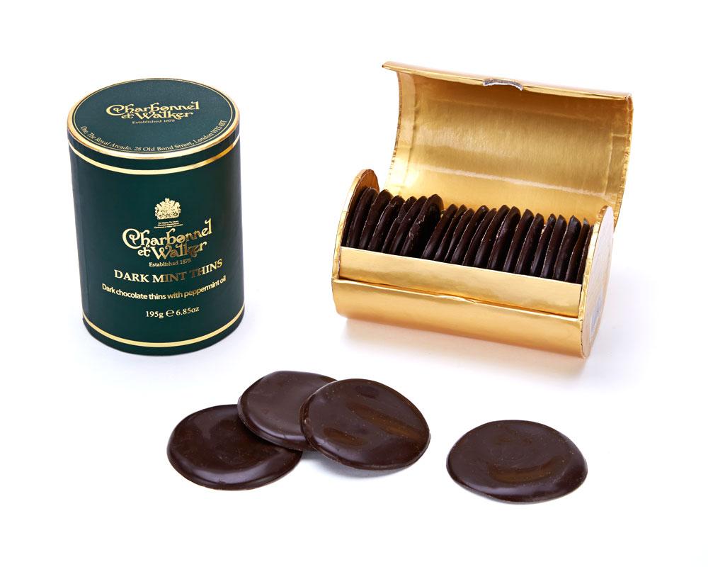CHARBONNEL ET WALKER - Mint thins, 200g