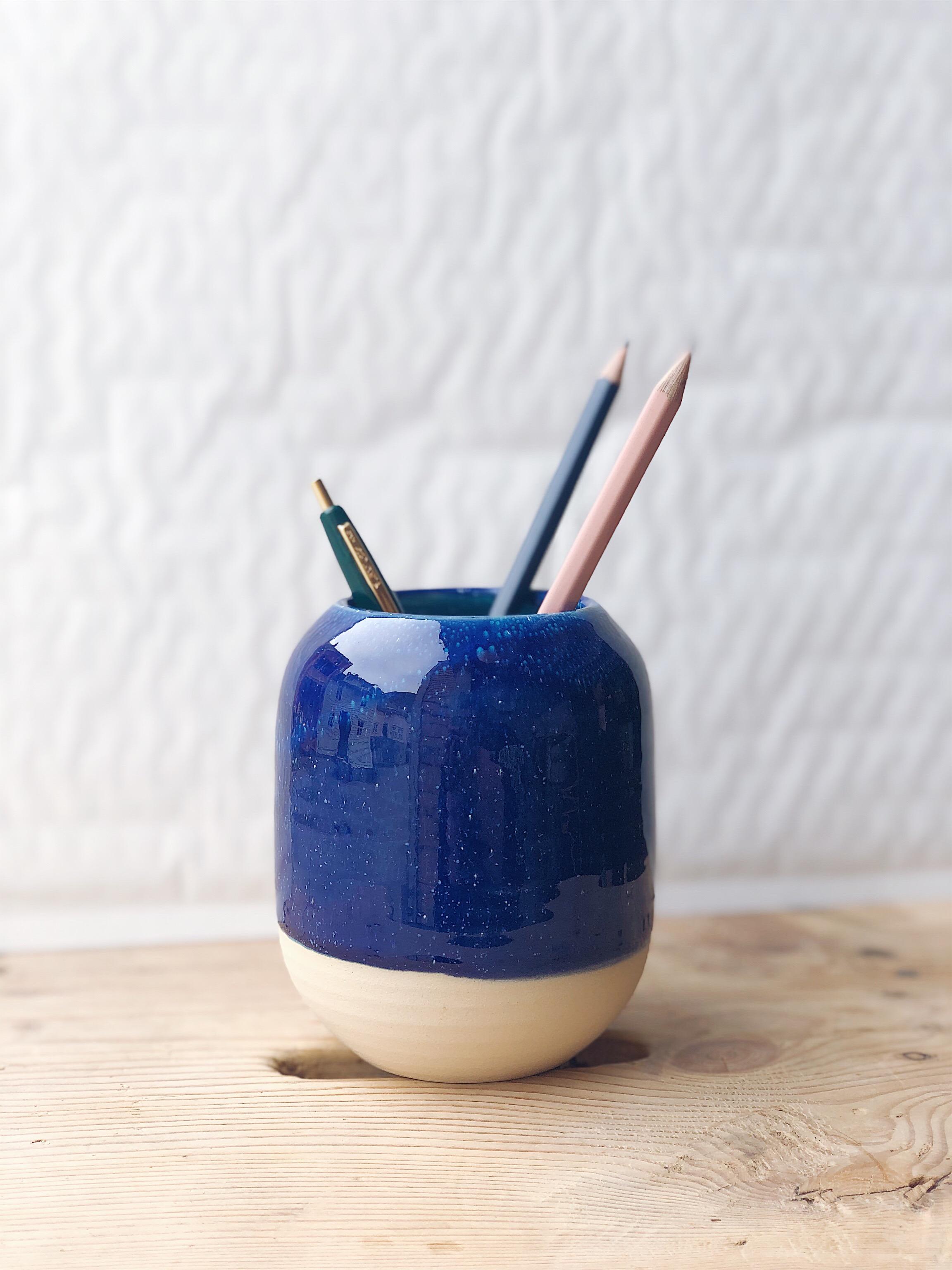 STUDIO ARHØJ - Pen Cup, Ultramarine