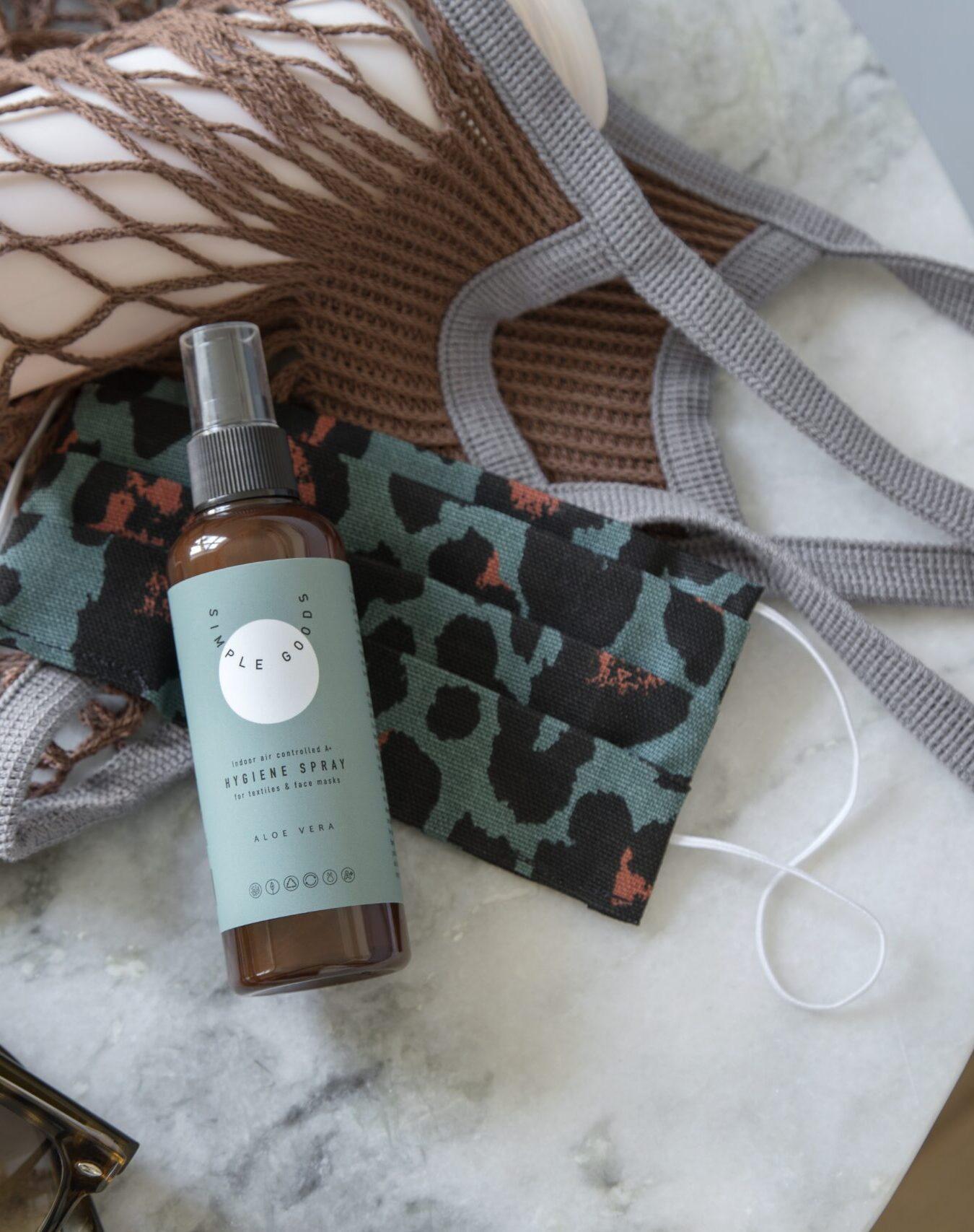 Simple Goods - Textile Hygiene Spray 100 ml, Aloe Vera