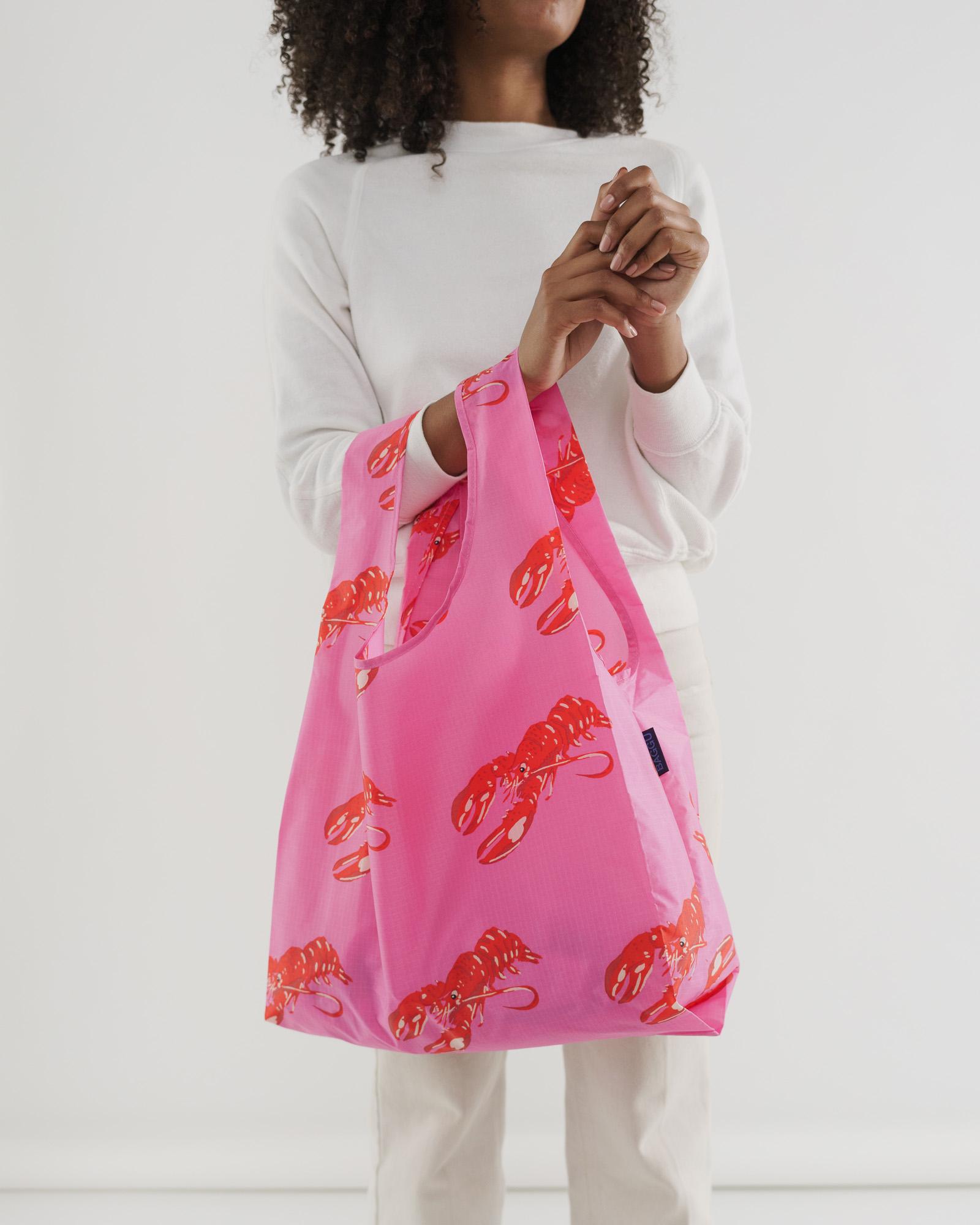 BAGGU - Pink Lobster