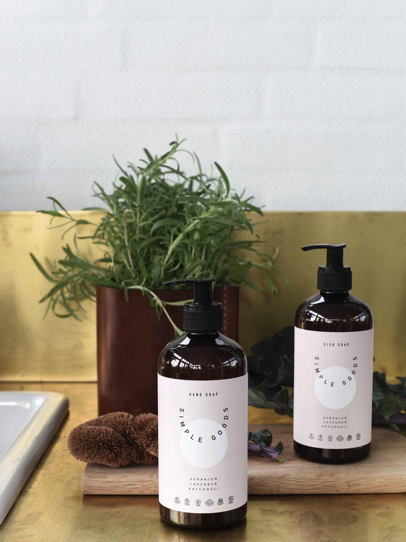 Simple Goods - Hand soap 450ml, Geranium