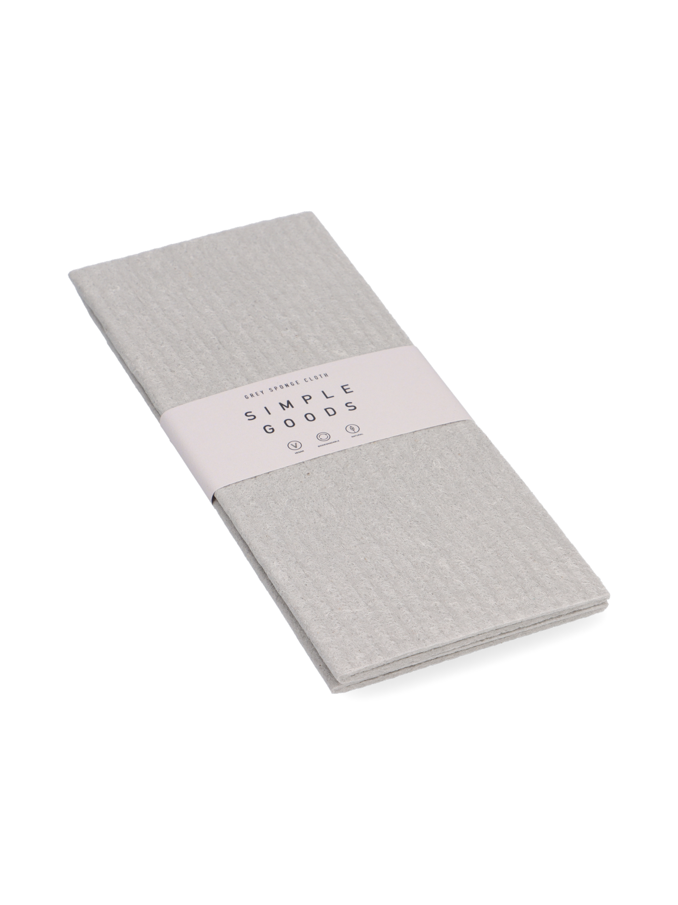 Simple Goods - Sponge Cloth, Grey