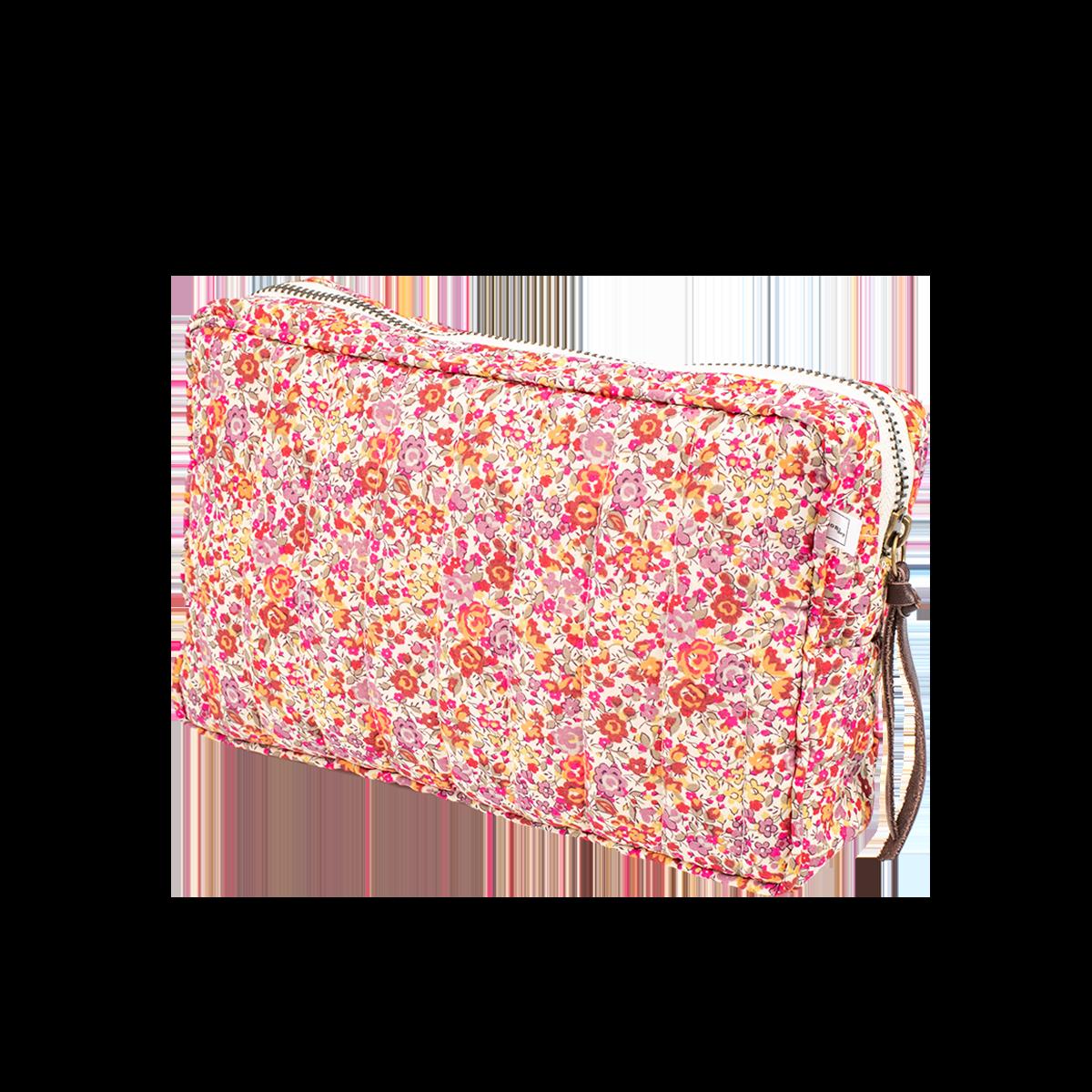 BON DEP - Liberty pouch SMALL Emma & Georgina Rust