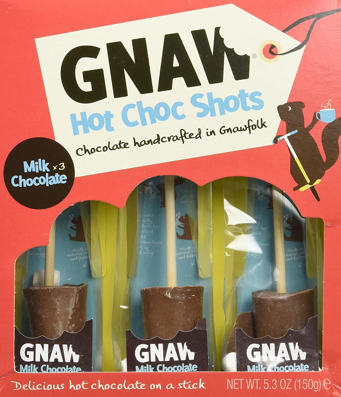 GNAW - Milk Chocolate Hot Choc Shot Gift set