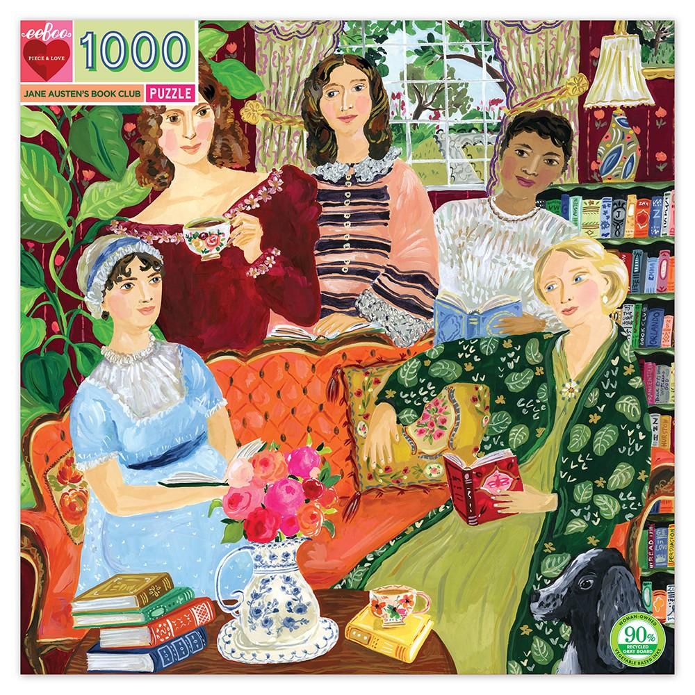 Puslespel 1000 brk - Jane Austen's Book Club