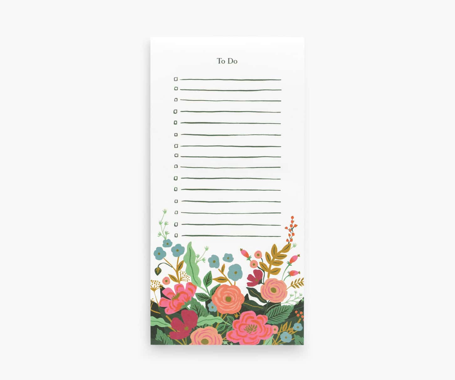 RIFLE - Note pad Floral Vines