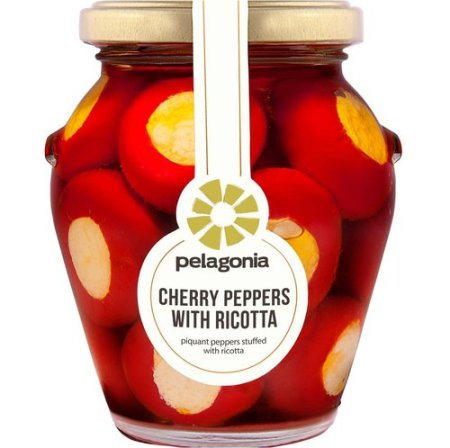 Cherry Peppers with Ricotta