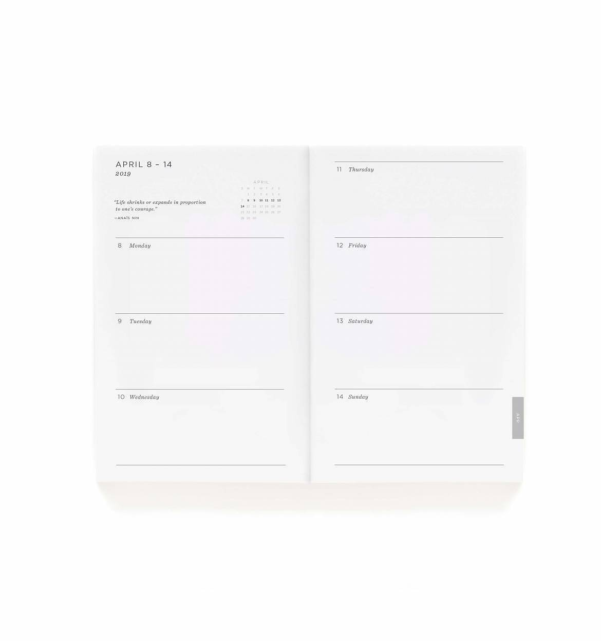 RIFLE - PRE-ORDER 2021 Type A Pocket Planner