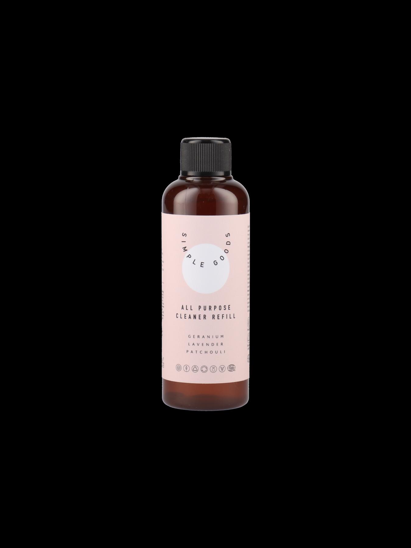 Simple Goods - Refill Bathroom Cleaner 100ml, Geranium