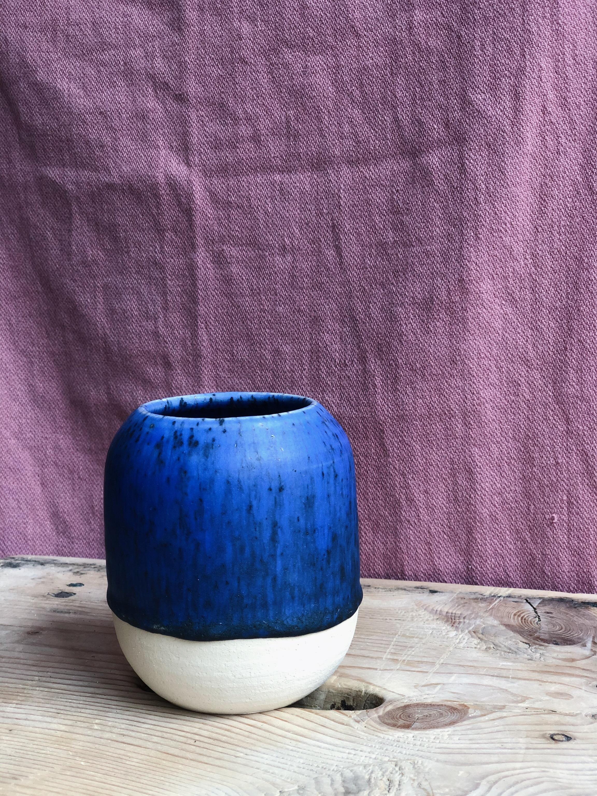 STUDIO ARHØJ - Pen Cup, Matte Deep Blue