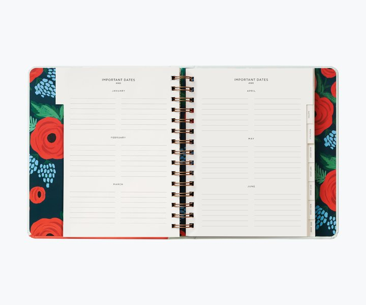 RIFLE - 2021 TYPE A 17 month planner
