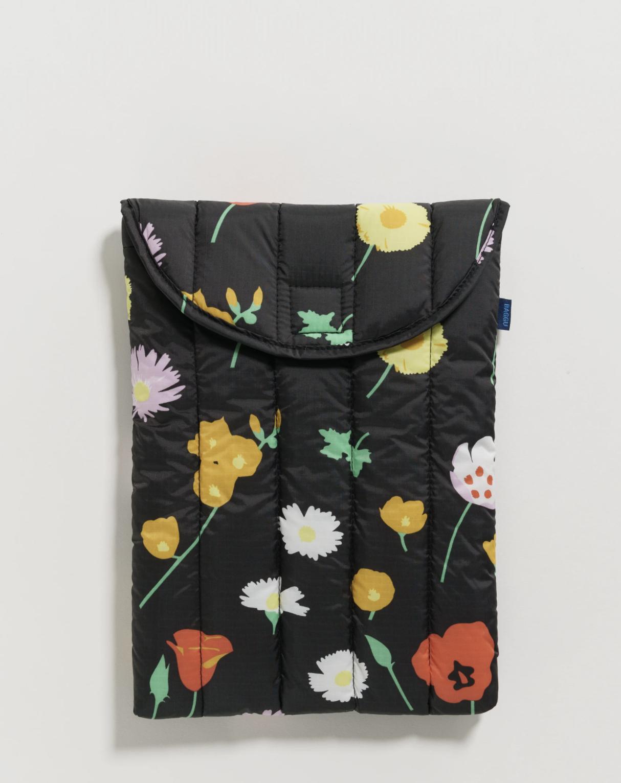 BAGGU - Puffy Laptop Sleeve 13'', Desert Wildflower
