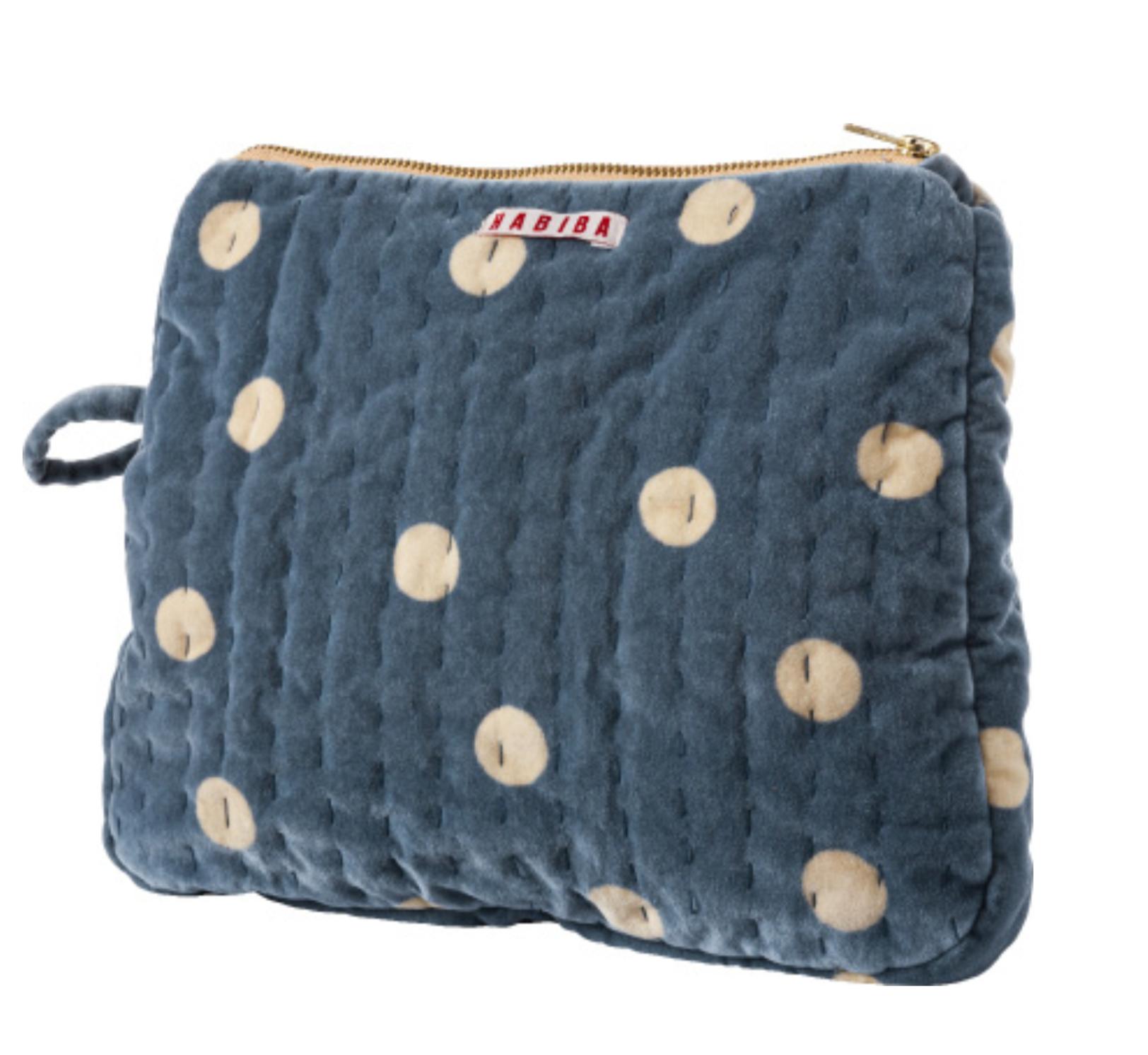 HABIBA - Milla toiletry bag, pastel blue