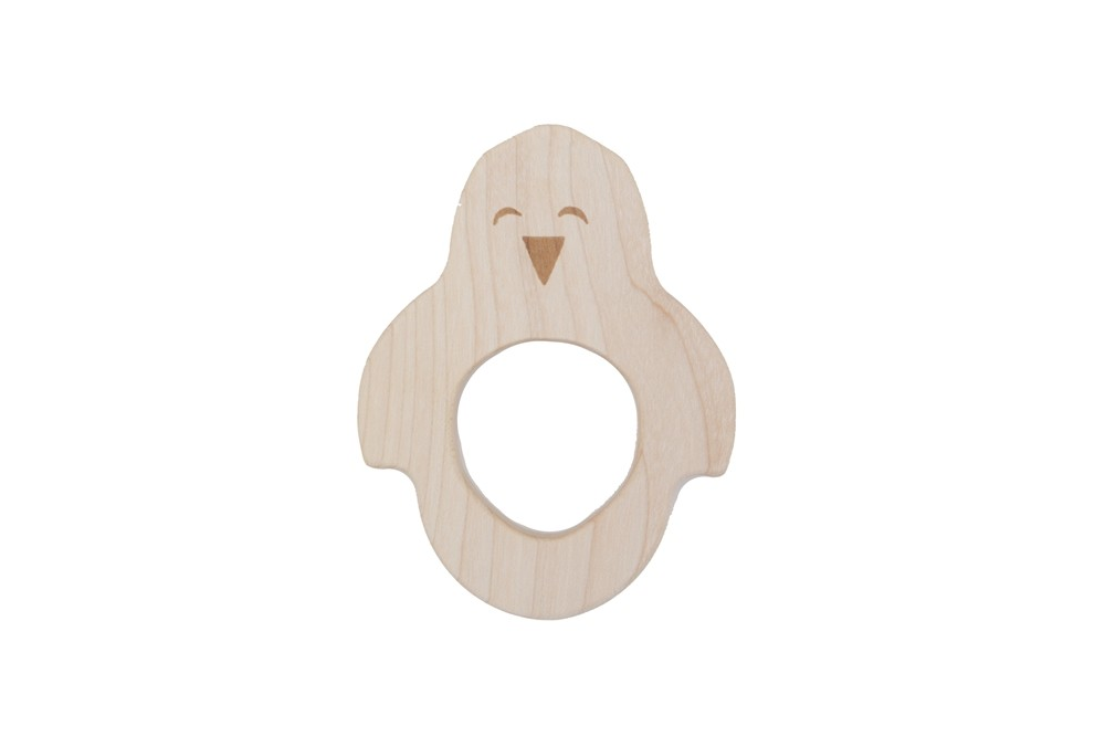WOODEN STORY - Teether Penguin