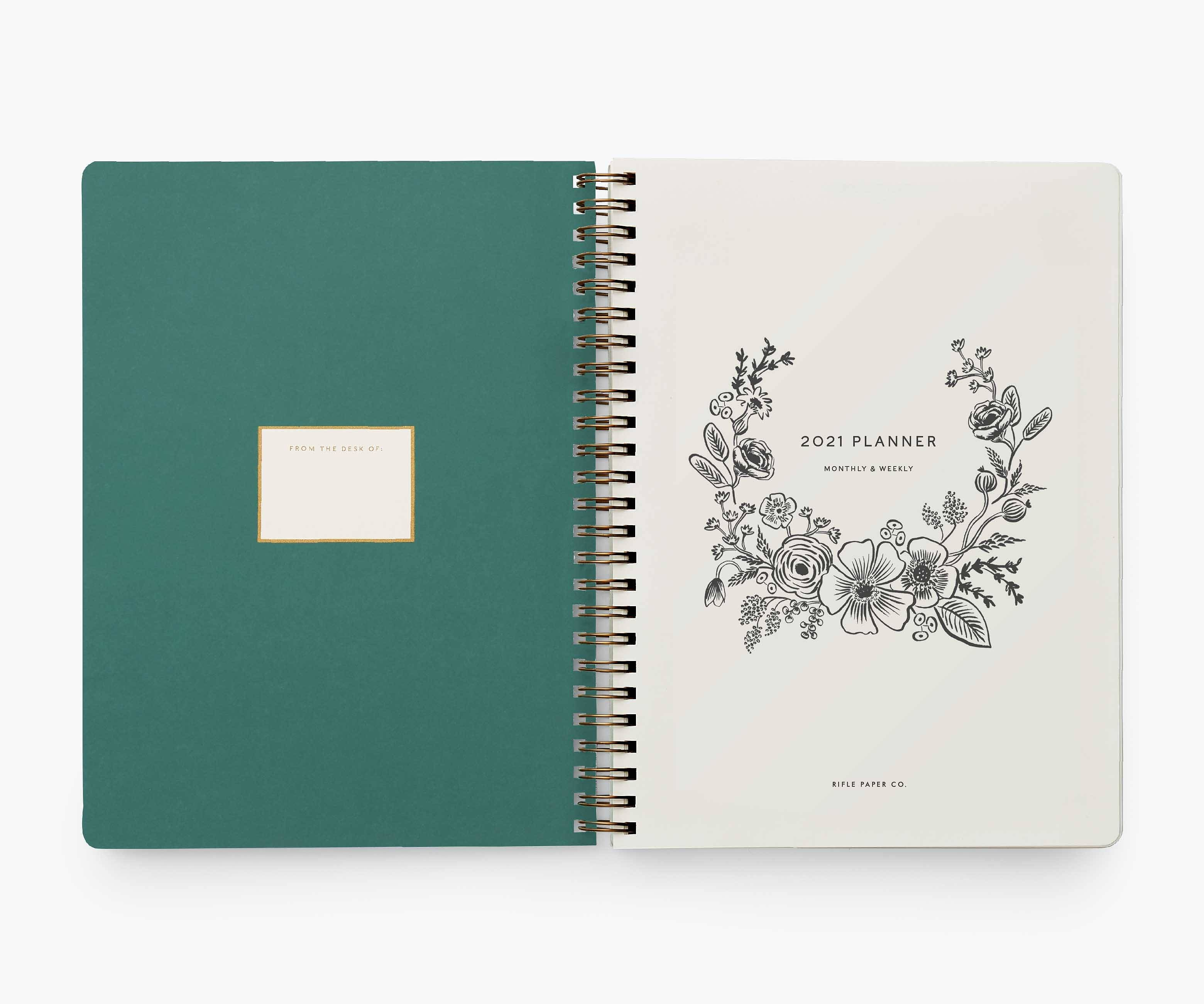 RIFLE - PRE-ORDER 2021 Strawberry Fields Softcover Spiral Planner