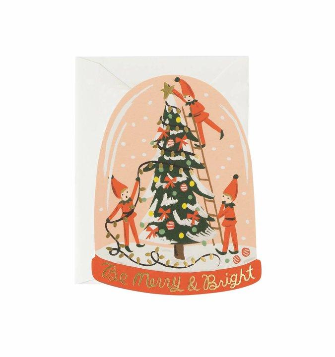 JULEKORT - Merry Elves Card