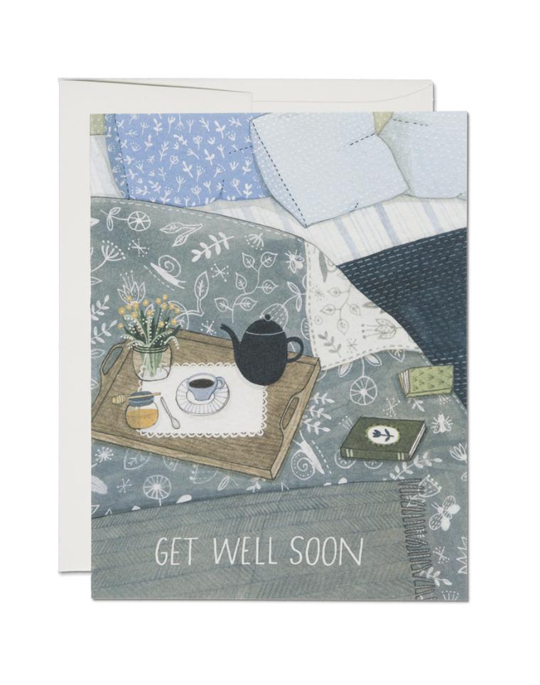 RED CAP - Kort, Get well soon