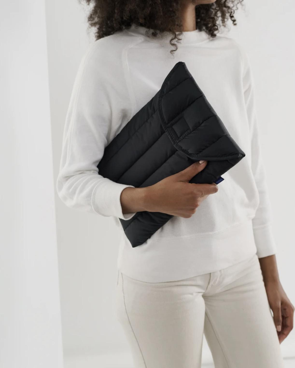 BAGGU - Puffy Laptop Sleeve 16'', Black