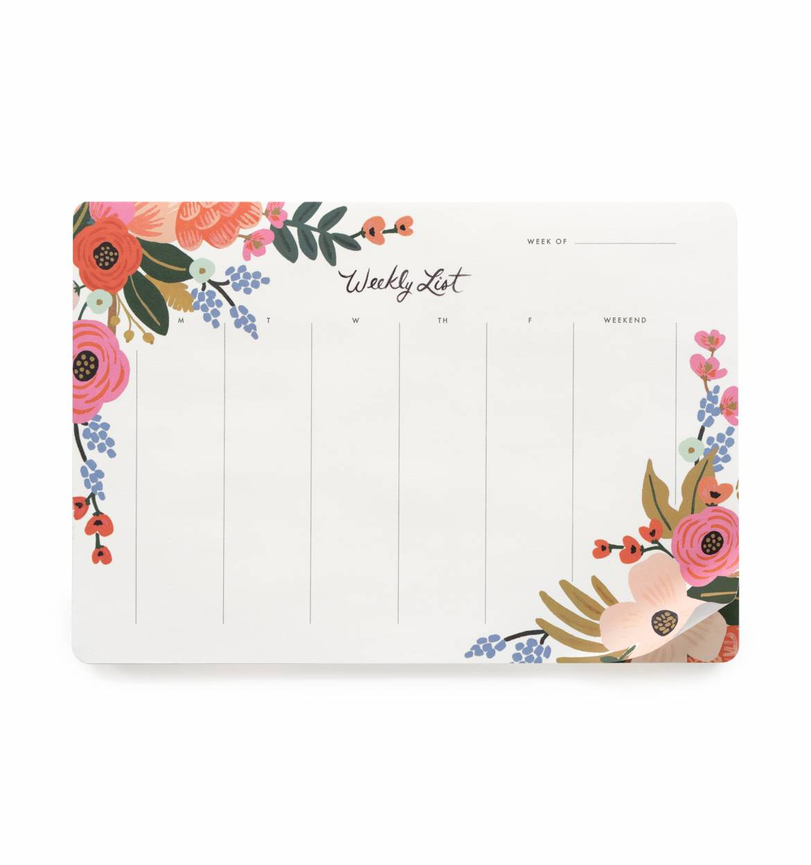 RIFLE - Desk pad, Lively Floral
