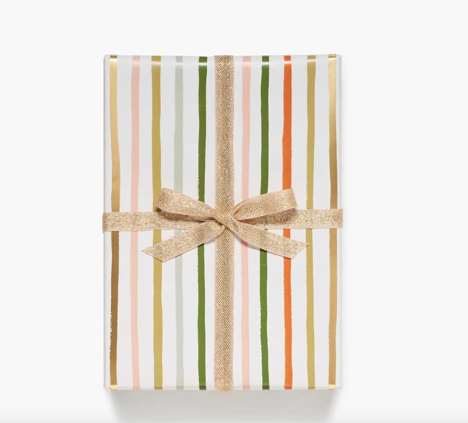 Continous Wrap Festive Stripe