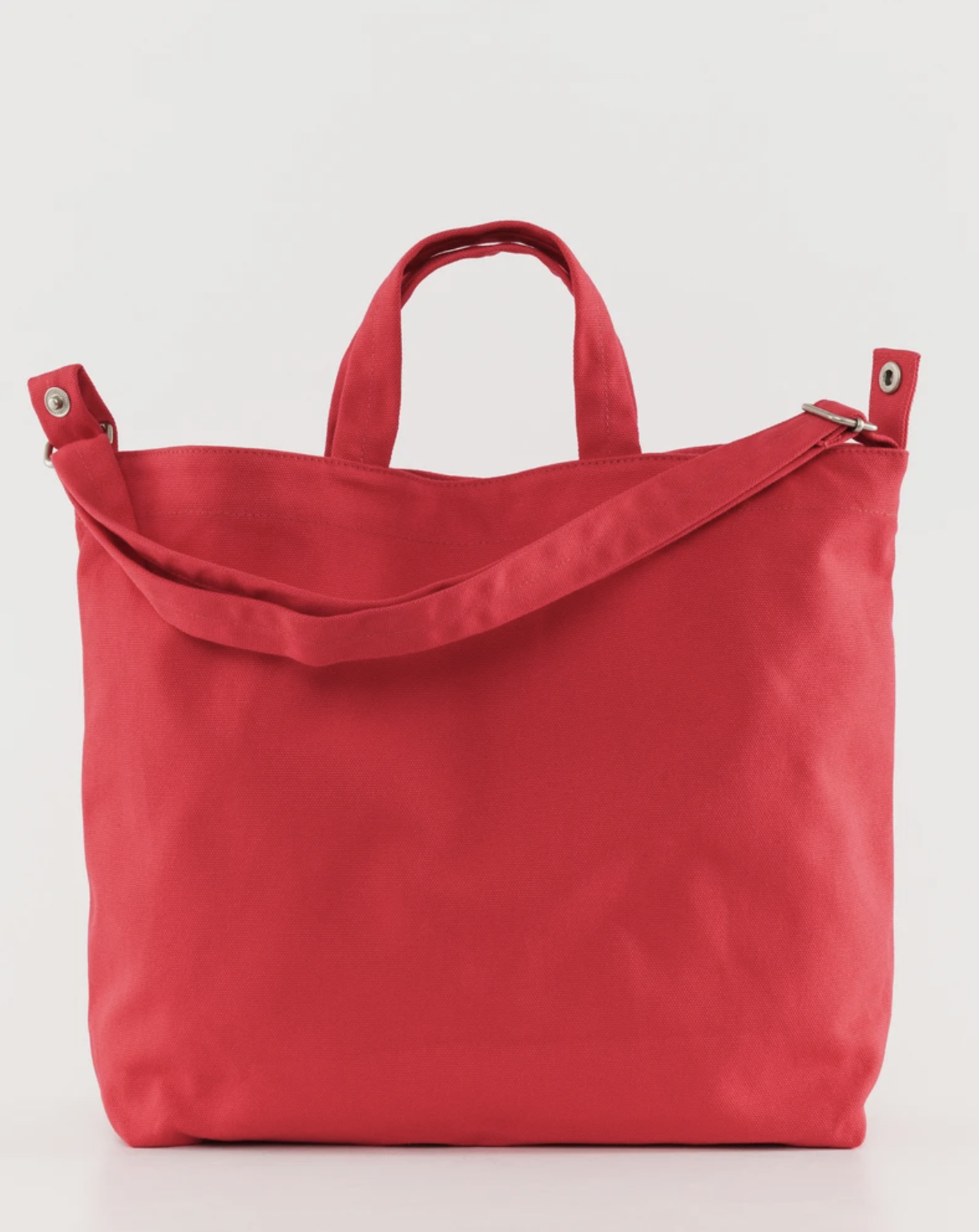 BAGGU - Horizontal Duck Bag, Punch red