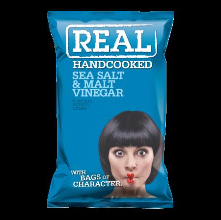 Real Crisps Salt & Vinegar