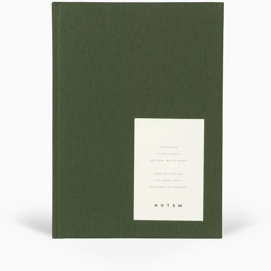 NOTEM - EVEN Work Journal, Large - Dark Green