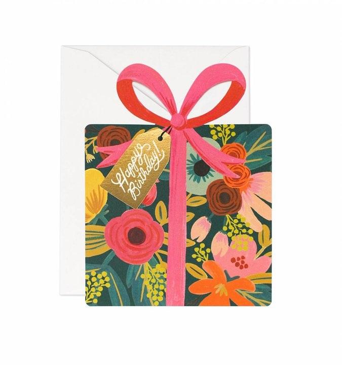 RIFLE - Kort, Birthday present
