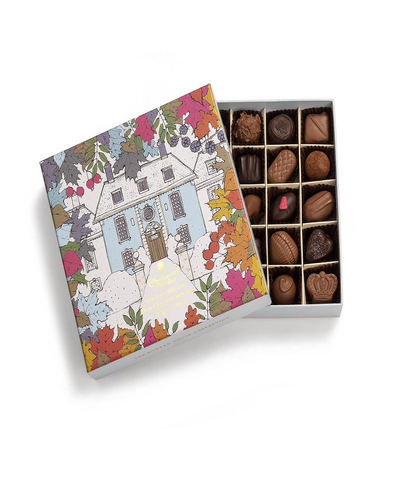 CHARBONNEL ET WALKER - Winter House Milk and Dark Chocolate & Truffle Selection 325g