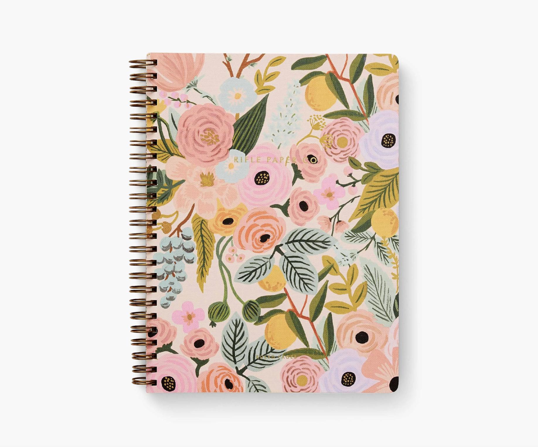RIFLE - Garden Party Spiral Notebook