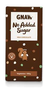 GNAW - Milk Chocolate w/No Added Sugar