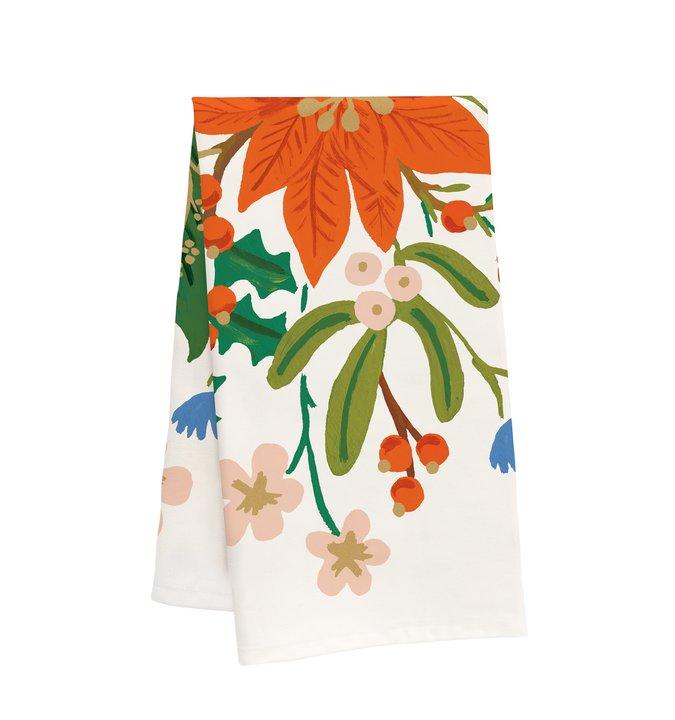 RIFLE - Holiday Bouquet Tea Towel