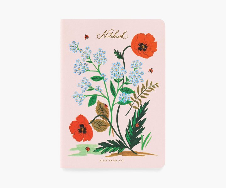 RIFLE - Botanical Notebook, Ladybug