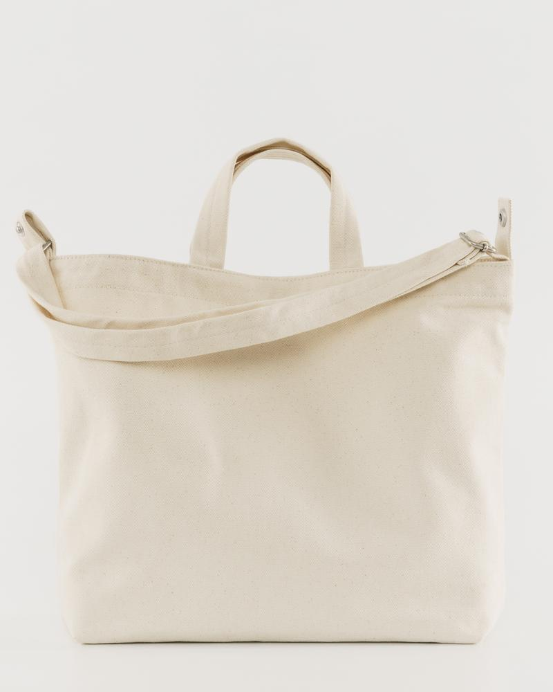 BAGGU - Horizontal duck Bag, Natural Canvas