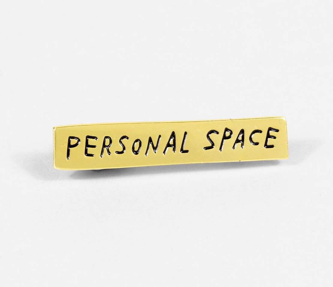 Adam J. Kurtz - Pin, Personal Space