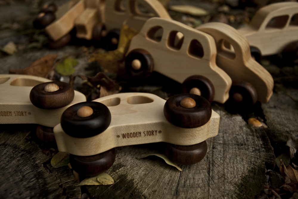 WOODEN STORY - 30's car