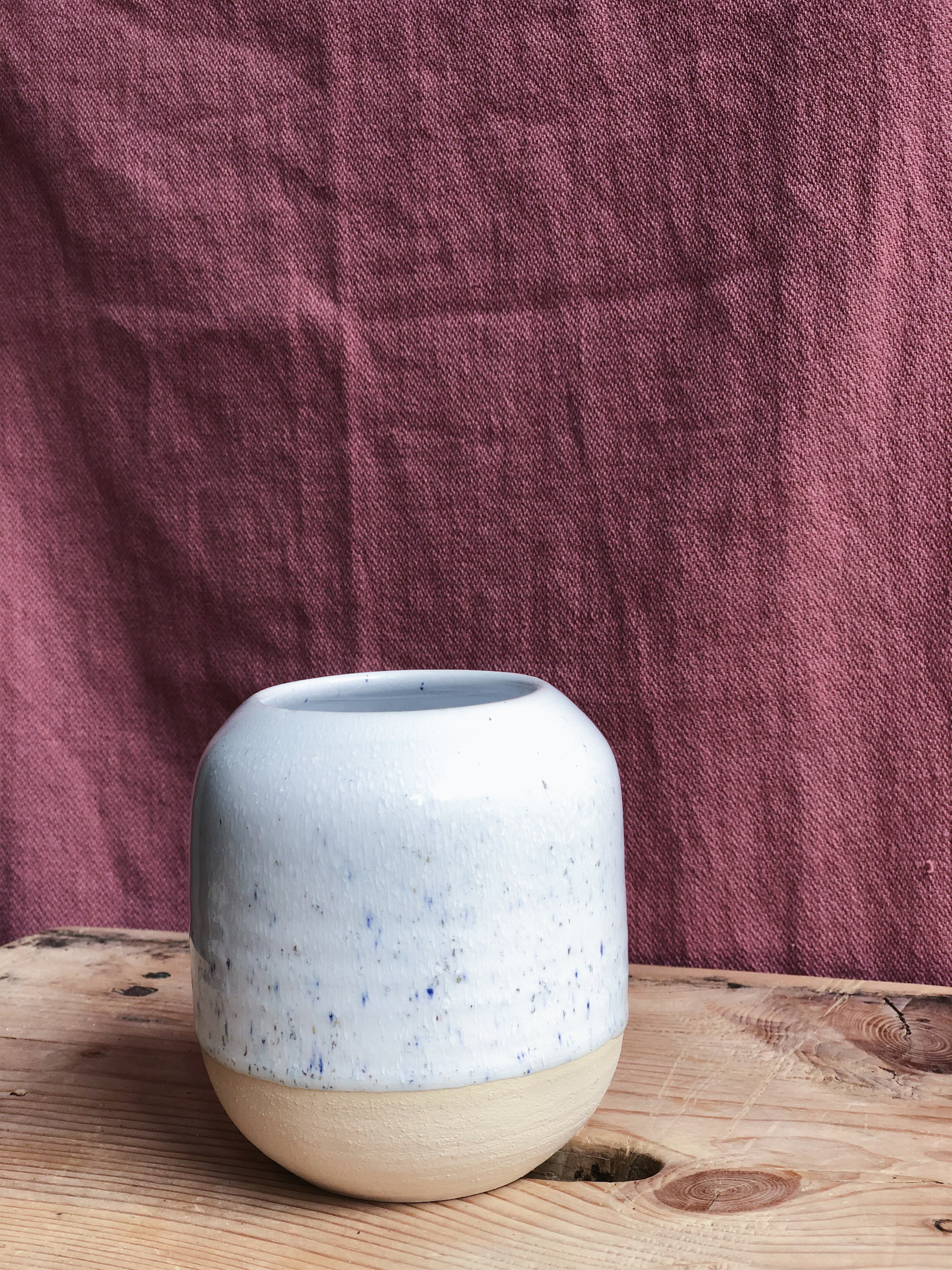 STUDIO ARHØJ - Pen Cup, Crystalline Cream