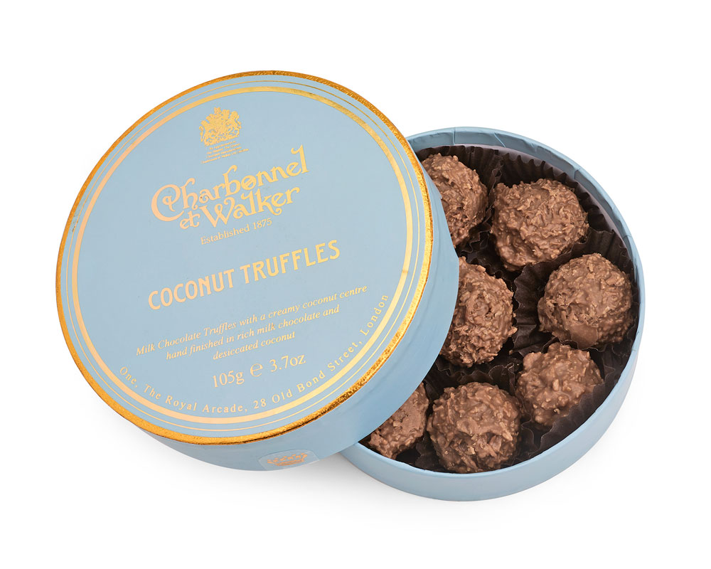 CHARBONNEL ET WALKER - Coconut Truffles 105g