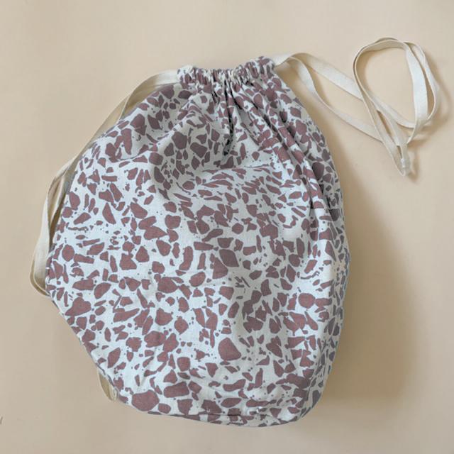 HAPS - Multibag stor, Terrazzo Rose Powder