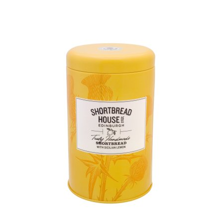 Shortbread Sicilian Lemon 140g Tin