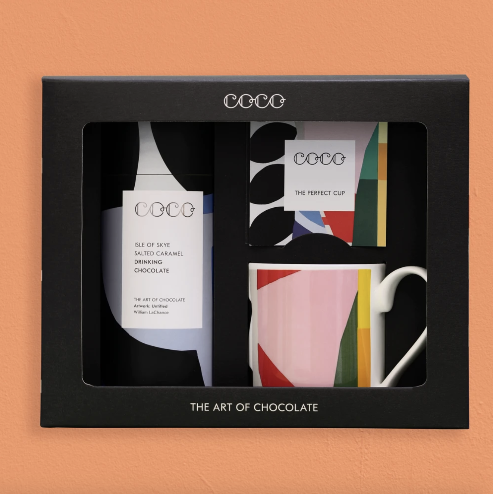 COCO - Salted caramel hot chocolate set