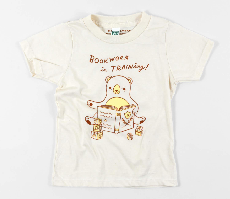 T-skjorte - Bookworm in Training