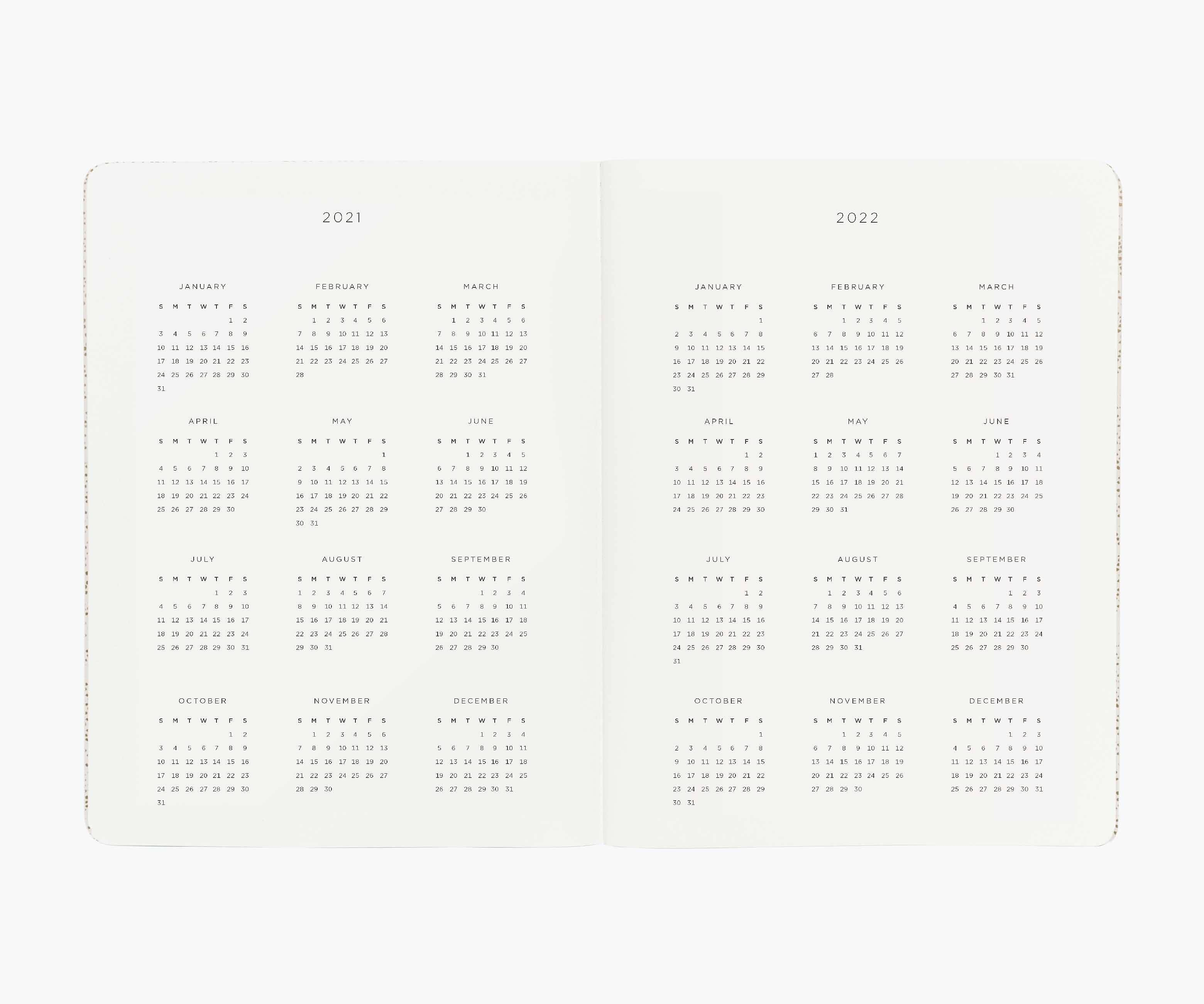 RIFLE - 2021 Luisa Appointment Notebook